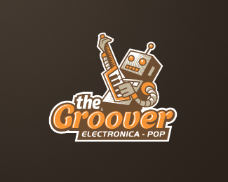 The Groover Logo Design