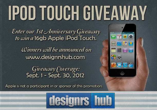 Giveaway: Win a Brand New 16GB Apple iPod Touch