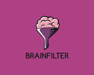Brain Filter Logo Design
