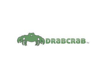 Drab Crab Logo Design