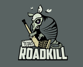 Texas Roadkill Logo Design
