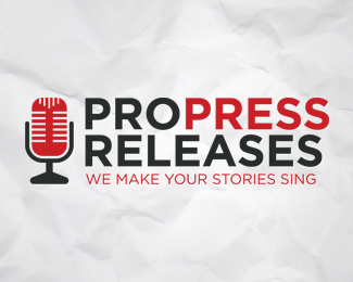 Pro Press Releases Logo Design
