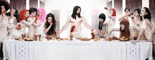 Horror The Last Supper: Vampires