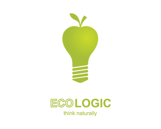 Think Naturally Logo Design
