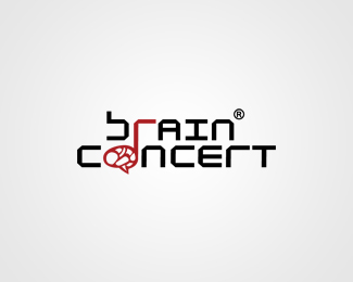 Brain Concert Logo Design