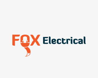 FOX Electrical Logo Design