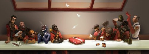 Team Fortress 2 - The Last Supper