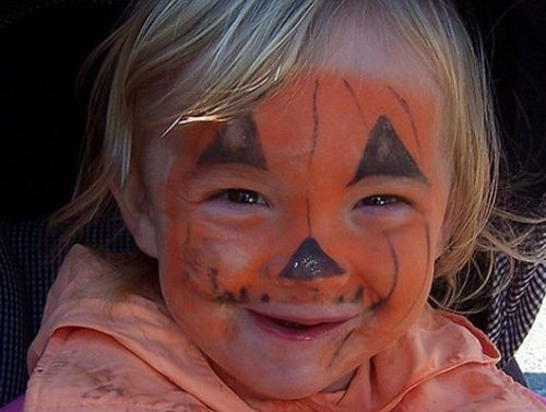 Halloween Face Painting Ideas for Kids
