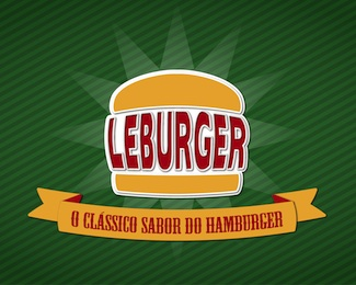 LeBurger Logo Design