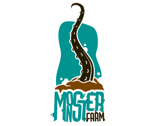 Monster Farm Logo Design