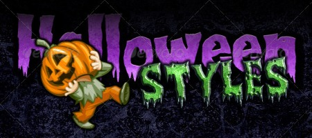 Halloween and Horror Photoshop Styles