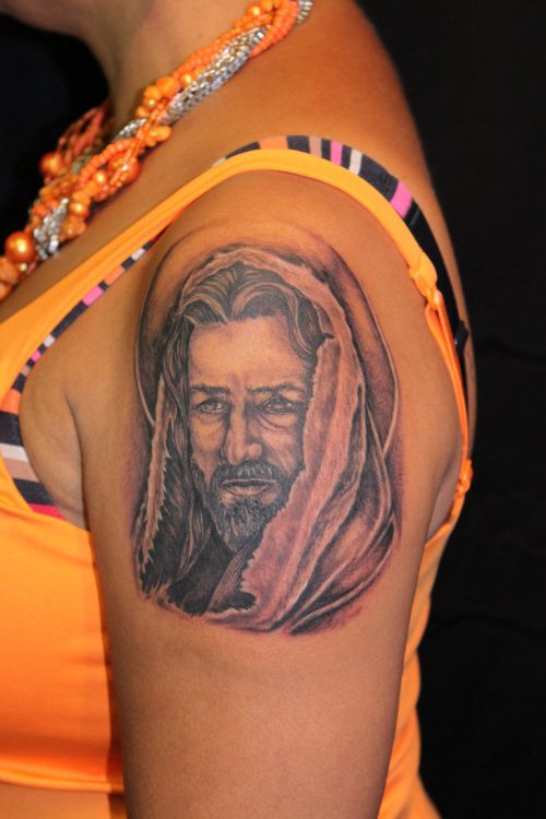 Jesus Christ Tattoo