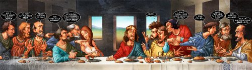 Dan Brown's Last Supper