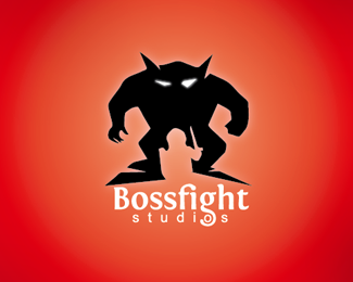 Boss Fight Draft Logo Design