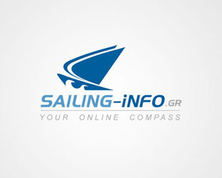 Sailing Info Logo Design