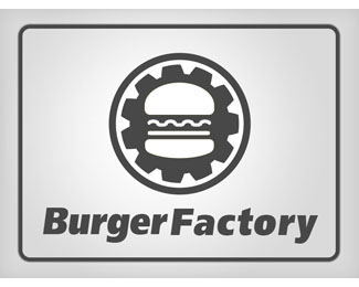 Burger Factory Logo Design