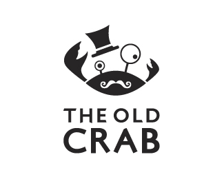The Old Crab Restaurant Logo Design