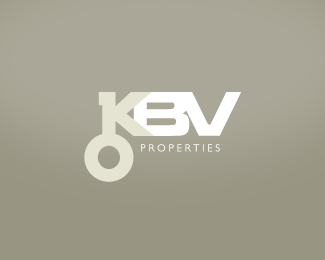 KBV Properties Logo Design