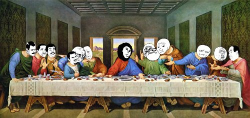 "30 Funny yet Creative ""The Last Supper"" Parodies"