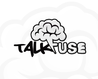 Talk Fuse Logo Design