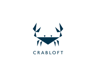 Crab Loft Logo Design