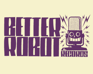 Better Robot Records Logo Design
