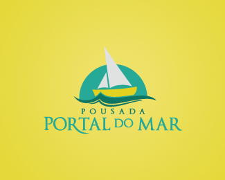 Pousada Portal do Mar Logo Design