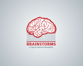 Brain Storms Logo Design