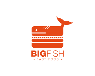 Big Fish Logo Design