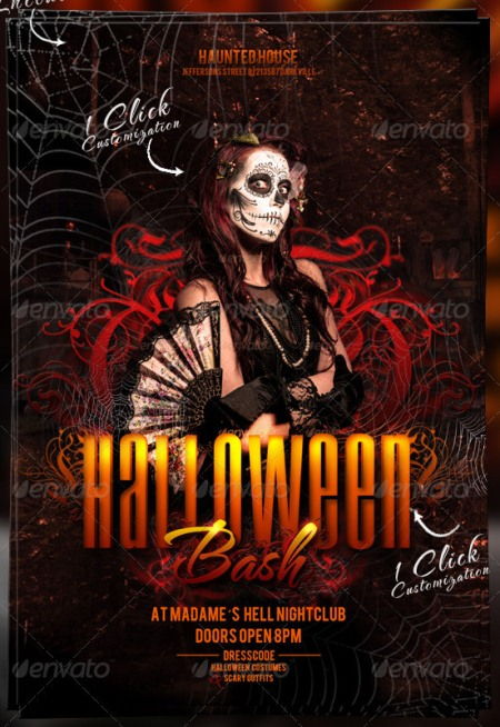 Halloween Bash Flyer Template