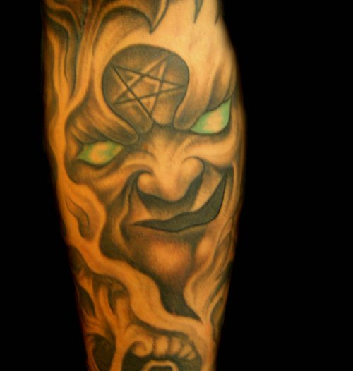 Freehad Demonic Tattoo