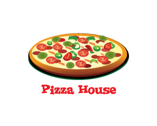 Pizza House Logo Design