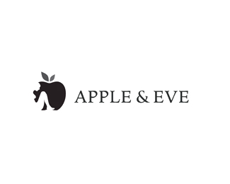 Apple & Eve Logo Design