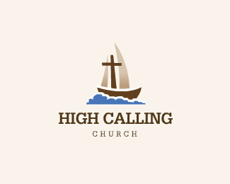 High Calling Church Logo Design