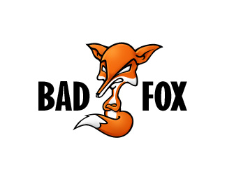 Bad Fox Logo Design