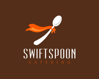 Swift Spoon Catering Logo Design