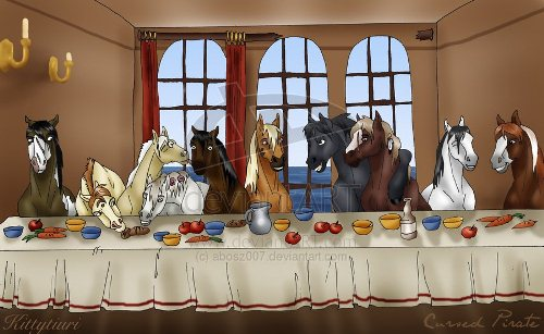 The Last Supper: Horse