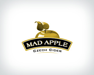 Mad Apple Logo Design