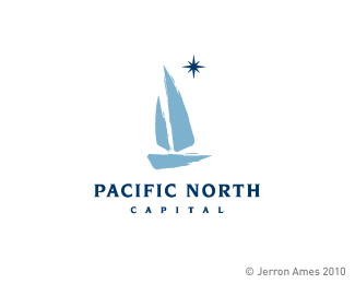 Pacific North Logo Design