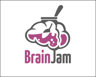 Brain Jam Logo Design