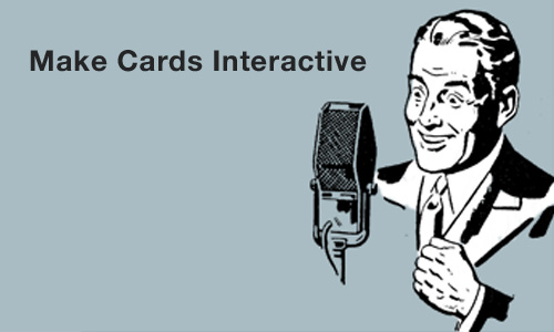 Make Cards Interactive