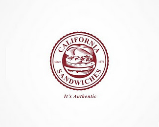 California Burger Logo Design