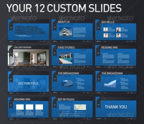 CXDeliver Business PowerPoint Templates