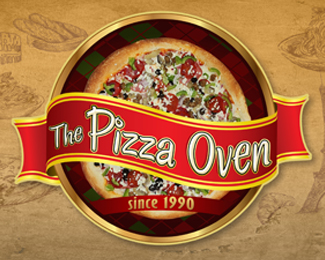 The Pizza Oven Logo Design