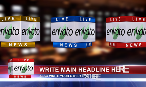 Breaking News 20 After Effects News Templates – News Report Template