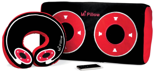 iPod Speakers Pillow