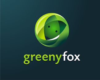 Greeny Fox Logo Designs