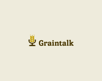 Grain Talk Logo Design