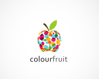 Colour Fruit Logo Design