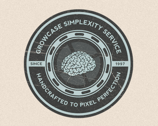 Growcase Simplexity Service Logo Design